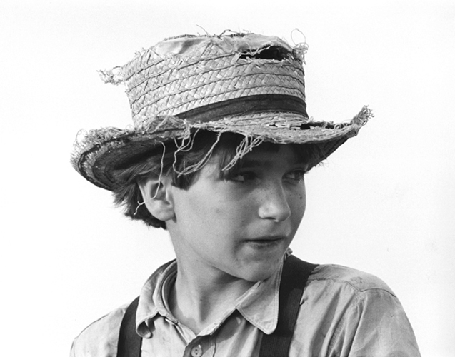 Amish Boy With Straw Hat, Lancaster, PA