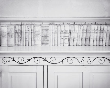 Lawbooks, Hindsdale County Courthouse, Lake City, CO: William Clift