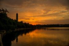 Tidal Basin and Washington Monument at Dawn