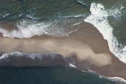 Sand Bar, Waves & Seagulls, off Martha's Vineyard