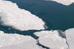 Lake Ice Patterns, Lake Ontario near Pultneyville,NY