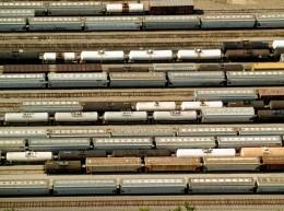 Locomotive Switching Yard, near New Orleans, LA