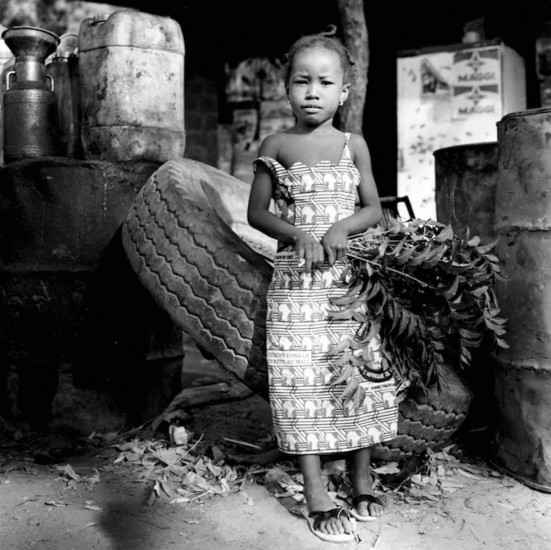 Untitled, Young Girl with Branches