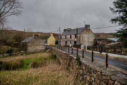 Dusk in Ballybofey, County Donegal