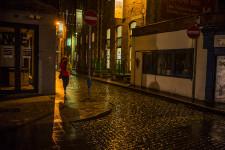 Rainy Night in Temple Bar, Dublin