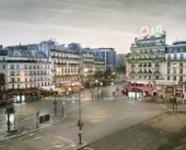 Montparnesse at Dawn, Paris, France