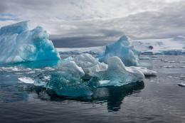 Blue Icebergs, Cierva Cove