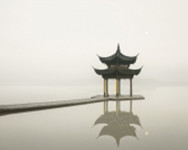 Pagoda, West Lake, Hangzhou, China