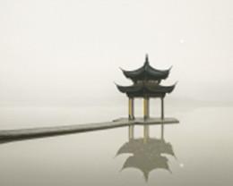 Pagoda, West Lake, Hangzhou, China