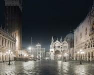 San Marco Night, Venice, Italy