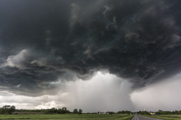 The Great Downpour, Bertha, MN