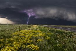 Purple Lightning, Canadian, TX