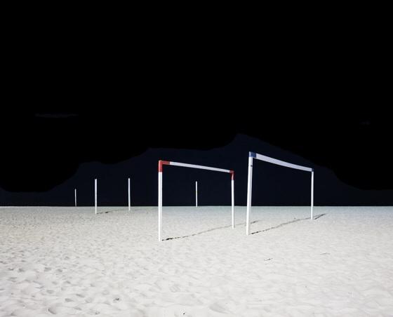 Goalposts II, Copacabana Beach, Rio de Janeiro, Brazil