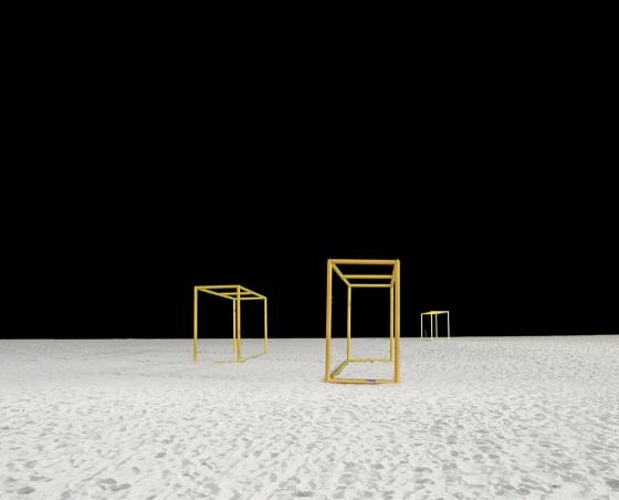 Goalposts I, Copacabana Beach, Rio de Janeiro, Brazil