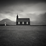 Black Wooden Church, Iceland