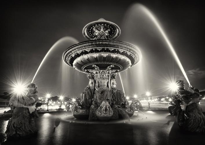 La Fontaine des Fleuves, Paris, France