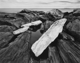 Rock, Shoreline, Pemaquid Point, Maine (Sold)