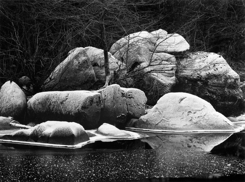 Frost Covered Boulders, Yosemite National Park, CA (Sold)