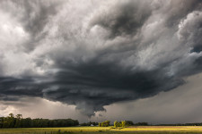 Supercell in Minnesota, Near Browerville, MN