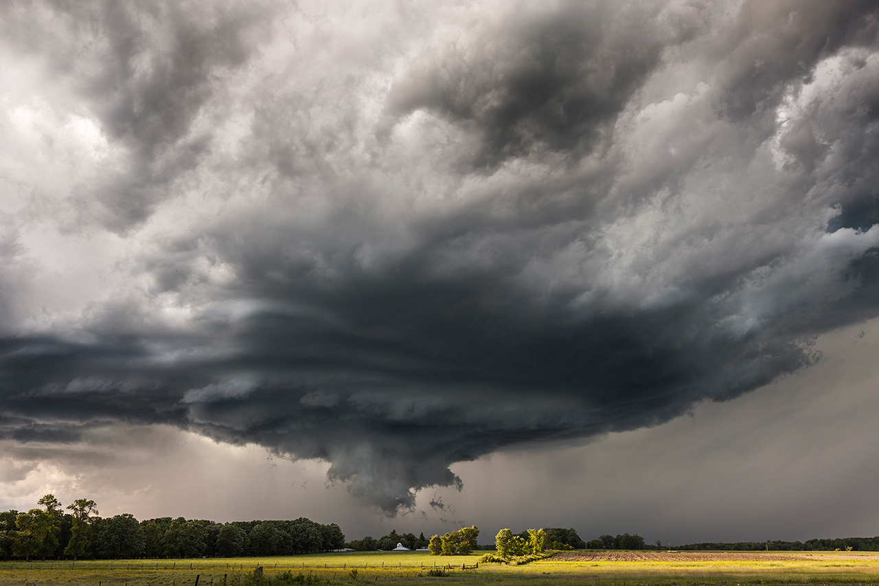 Supercell In Minnesota Near Browerville Mn By Camille