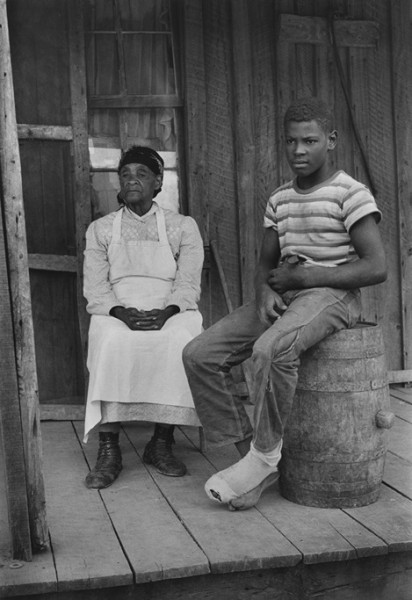 Old Woman and Boy, Shelby County, TN