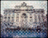 Trevi Fountain, Italy (Textus #052-1)