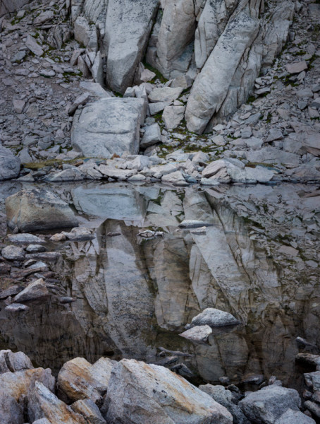 Granite Reflections, Sixty Lakes, Kings Canyon
