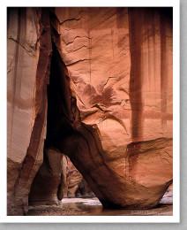 Slide Rock, Paria Canyon, Utah