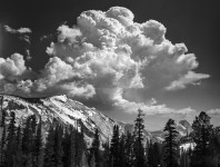 Thundercloud, Half Dome and Cloud's Rest, Yosemite