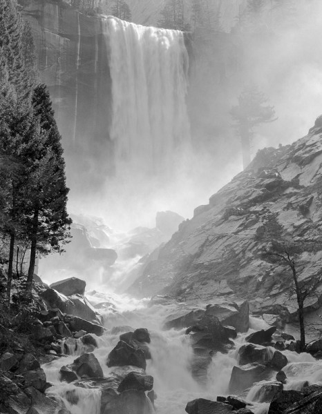 Vernal Falls, Spring, Yosemite