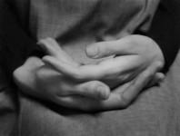 Eleanor's Hands, Winthrop, MA: Paul Caponigro (Sold)