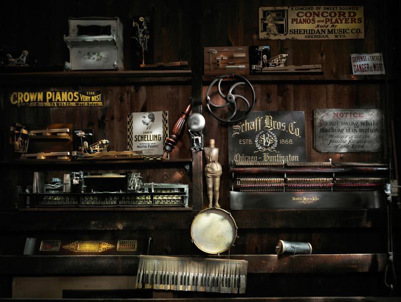 Piano Workshop Wall