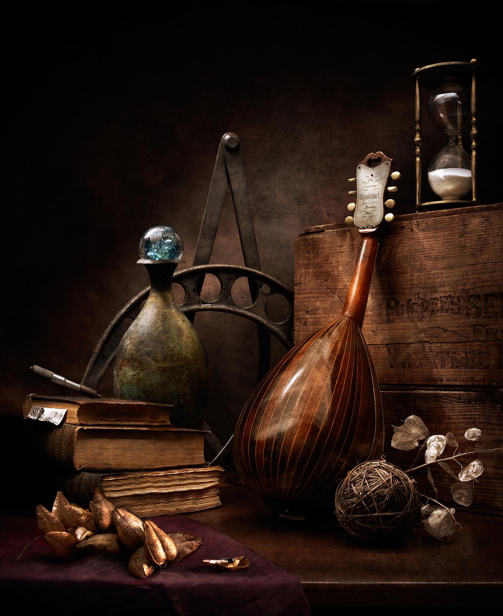 Arts Music Photography: Still Life With Mandolin #1 By Harold Ross
