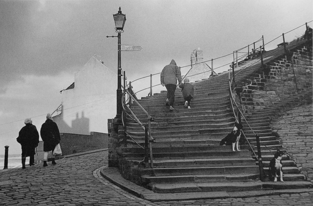 Stairway to Whitby, Yorkshire, UK