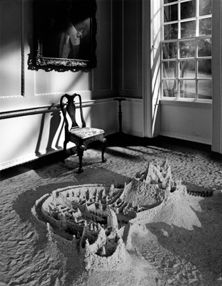 Untitled, aka Sandcastle in Room