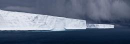 Tabulars in Hope Bay, Antarctica