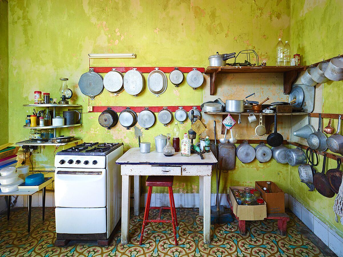 Kitchen, Havana by David Burdeny   Susan Spiritus Gallery