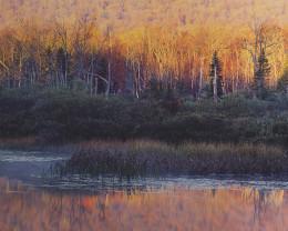 Indian Lake Sunrise, New York