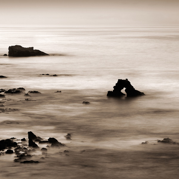 Arch Rock at Dawn, Newport Beach (A)