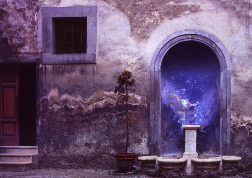 Blue Alcove, Orvieto, Italy