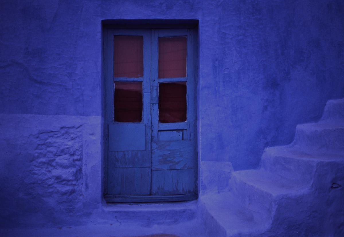 blue steps kalymnos greece by jeffrey becom susan spiritus gallery