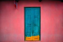 Fachada Rosa, Chiapas, Mexico