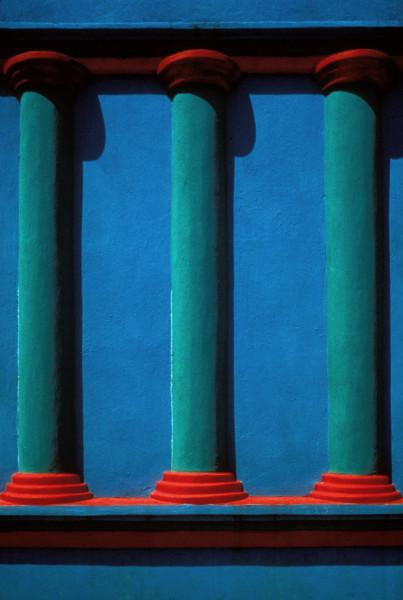 Three Green Pillars, Tabasco, Mexico