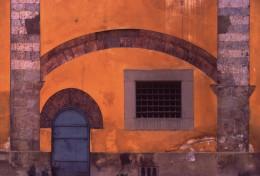 Yellow Wall, Pisa, Italy