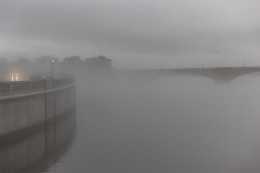 Memorial Bridge and Fog