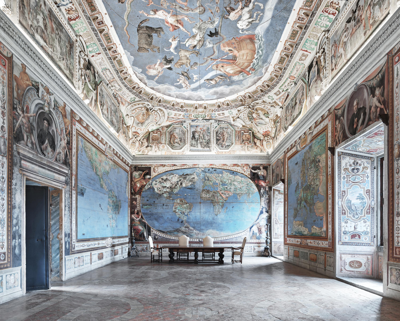 Map Room, Caprarola by David Burdeny | Susan Spiritus Gallery