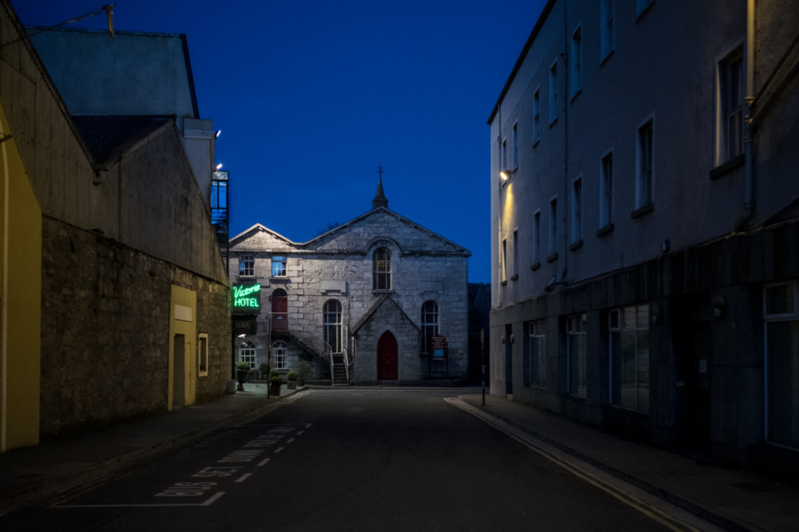 Victoria Hotel and Church, Galway