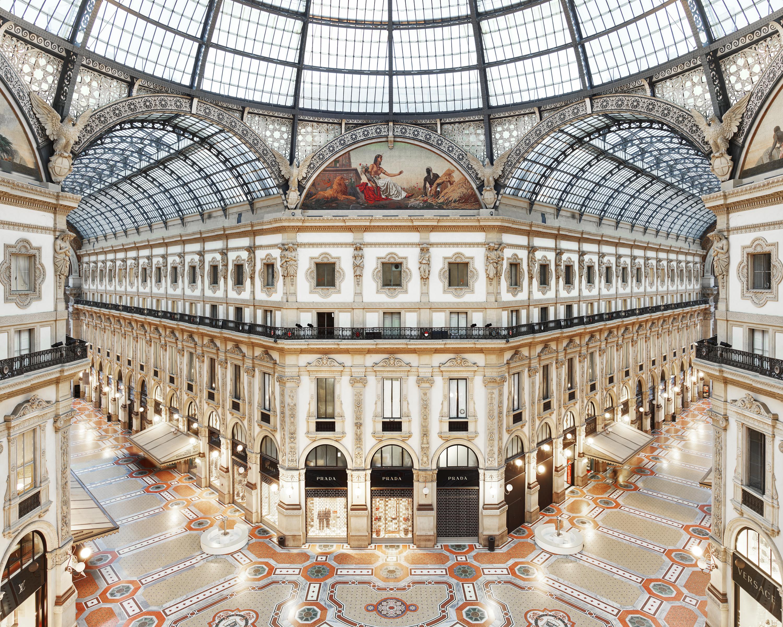 Galleria Vittorio Emanuele Ii Milan Italy By David