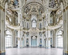 Rotunda, Stupinigi Palace, Piedmont, Italy
