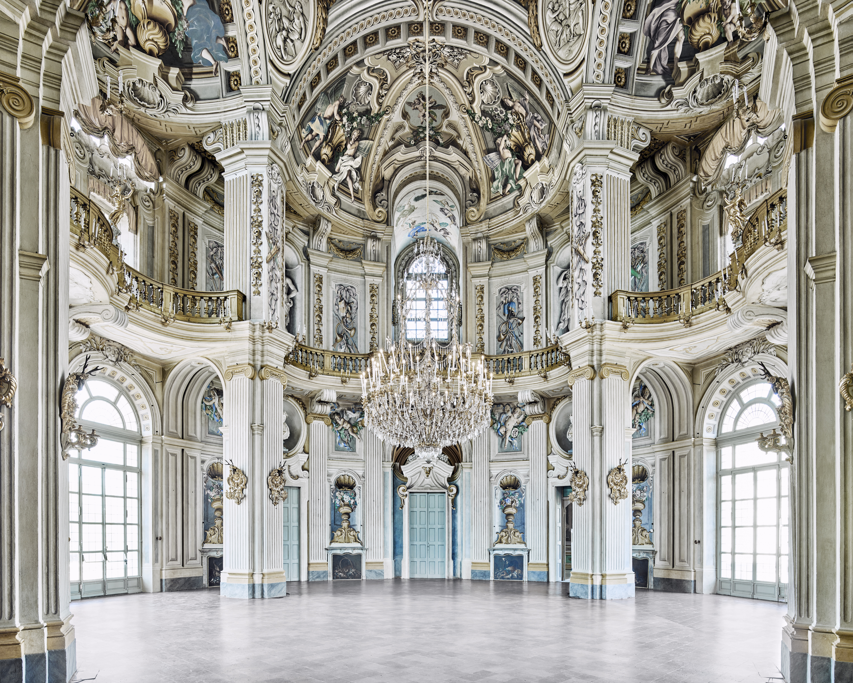 Rotunda stupinigi palace piedmont italy by david burdeny susan spiritus gallery - Interior designer caserta ...
